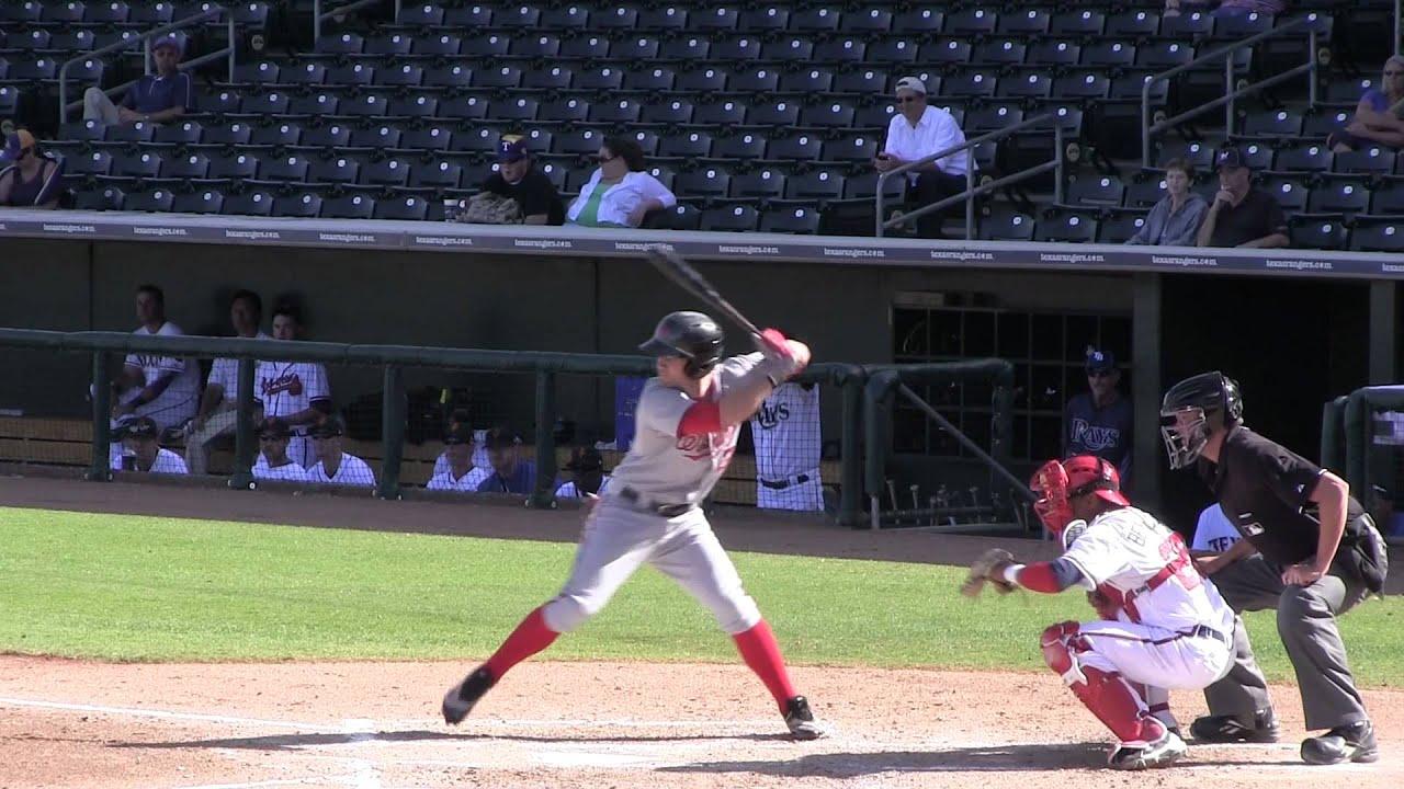 Bryce Harper batting form--slow motion - YouTube