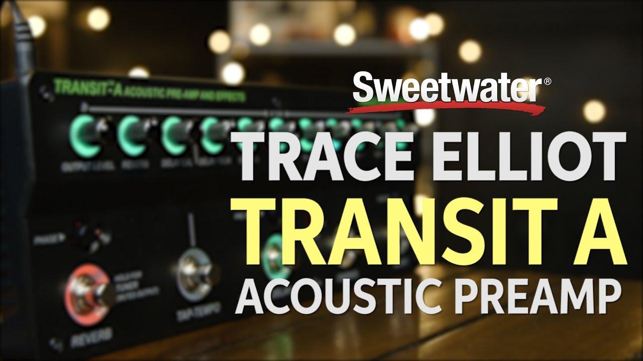 Trace Elliot Transit A Acoustic Preamp Pedal