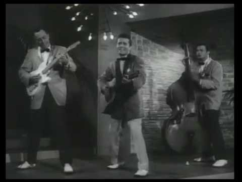 JOHNNY BURNETTE & THE ROCK 'N' ROLL TRIO Lonesome Train (Improved sound)