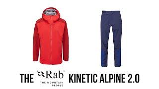 Rab - Kinetic Alpine 2 0 Jacket and Pant