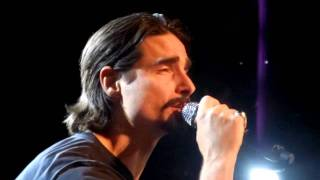 BSB Cruise 2011,Kevin and Backstreet Boys sing Drowning