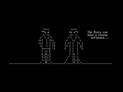 [Telnet] Star Wars IV - ASCII Version