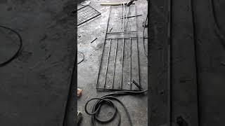 3. Cara Membuat Tralis Besi Pengaman Jendela Sederhana Minimalis (part 3)