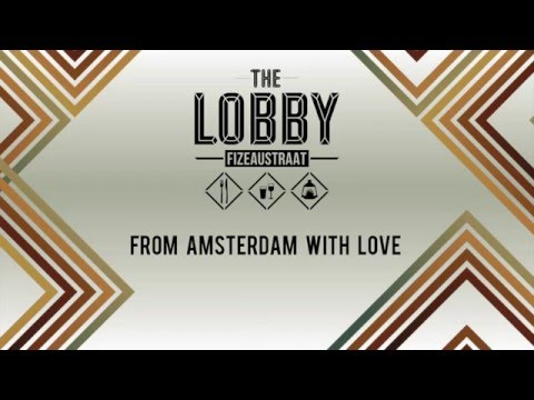 From Lobby to Lobby - our new, 2nd location in Amsterdam! Coming soon.