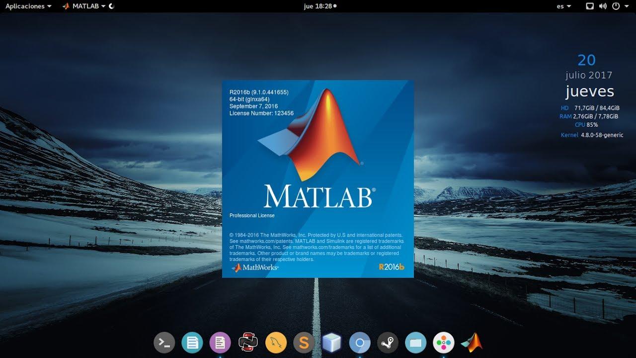 INSTALAR MATLAB LINUX [R2016b ][2017]