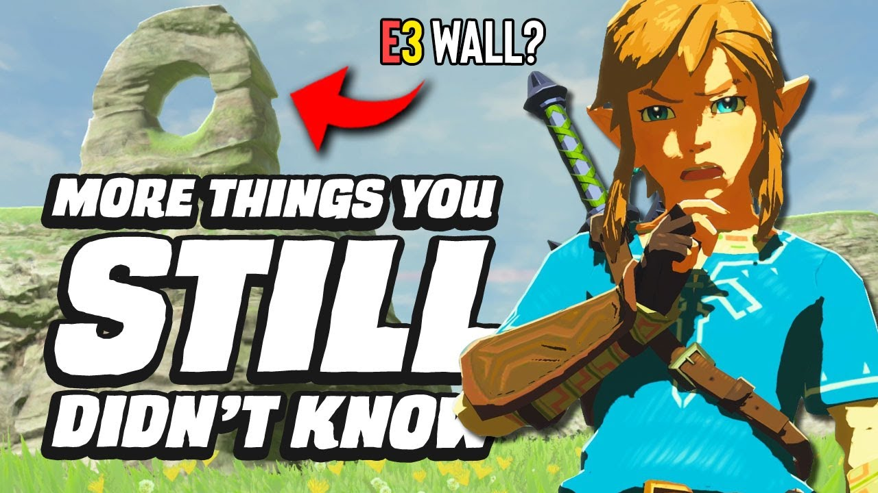 30 MORE Things You STILL Didn't Know In Zelda Breath Of The Wild