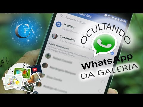 Ocultar Fotos e V�deos do Whatsapp na Galeria de Imagens do Celular