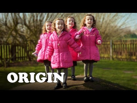 Can You Tell Them Apart? UK's Only Identical Quadruplets | Four of a Kind