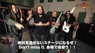OZZFEST JAPAN 2015に出演するKoЯnからのメッセージ到着!! OZZFEST JA...