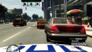 [GTA IV] День из жизни полицейского. #1 Серия.