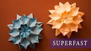 Origami 60 Seconds ( Flower ) / Оригами за 60 секунд ( Цветок )