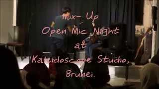 Give Me Love - Ed Sheeran (Live Cover) Open Mic Night at Kaleidoscop Studio, Brunei.
