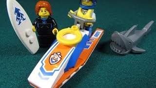 Playing with Lego #32 - Lego City Surfer Rescue (Review) - LEGO 60011