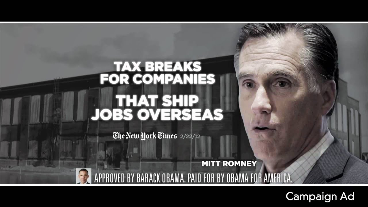 Let The Attack Ads Begin Obama Hits Romney First Buzz Politics