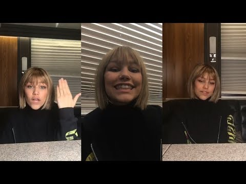 Grace VanderWaal | Instagram Live Stream | 20 February 2018
