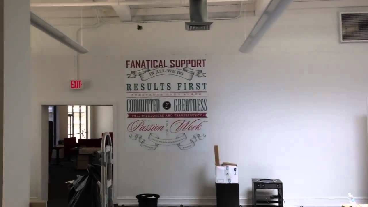 wall street office decor. Office Building Interior Wall Decor And Graphics - San Antonio Street