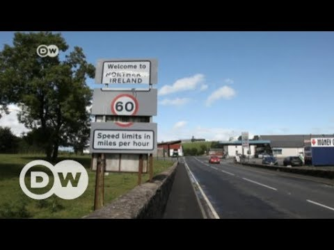 Road to Brexit: Northern Ireland border area | DW English