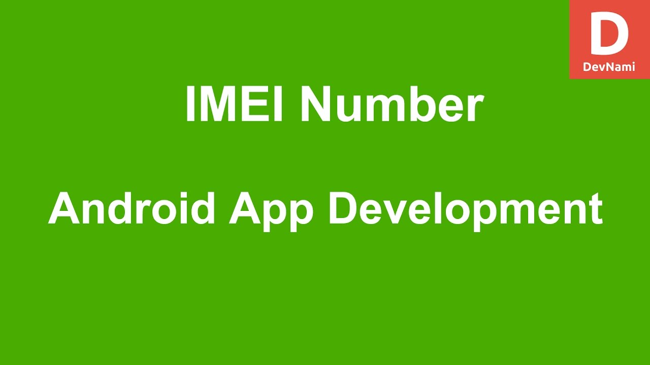 maxresdefault - How To Get Imei Number In Android Studio Programmatically