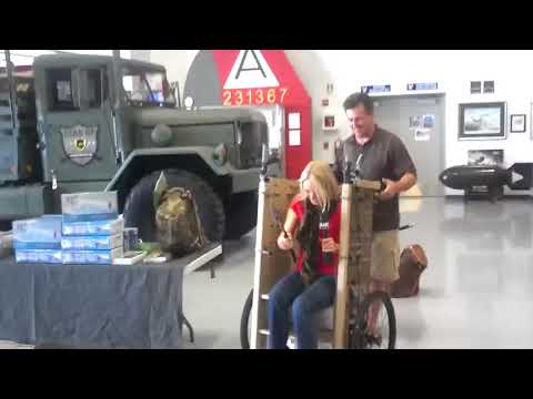 Tim Ralston of National Geographic 's Doomsday Preppers at Prepper Expo in Mesa