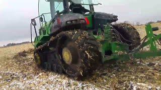 Harvest 17 - snow and mud...