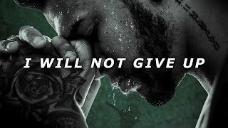 I WILL NOT GIVE UP - One of the Best Speeches Ever by Logan Taylor