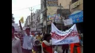 Sarada Case and Violence Against Women Rally Udaipur 22nd August 2012.wmv