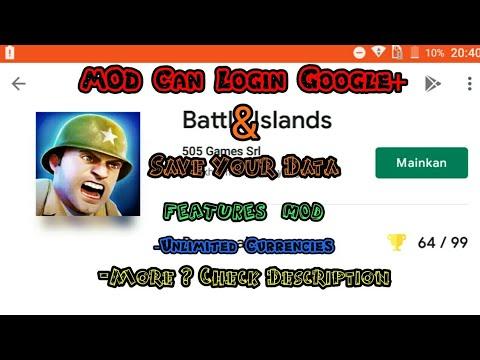 Mod Can Login Google+ - Battle Islands Mod Tutorial