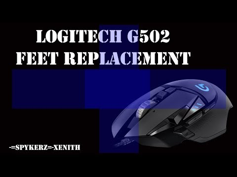Hyperglide Mouse Skates for The Logitech G Pro, G102, and