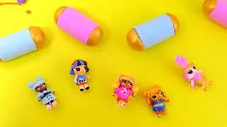 Слайм ЛОЛ, Антистрес, бумажные ЛОЛ Сюрприз, мини капсула ЛОЛ декодер, #Hairgoals, mini doll, DIY