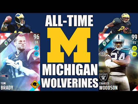 All-Time Michigan Wolverines Team - Tom Brady and Charles Woodson! - Madden 16 Ultimate Team