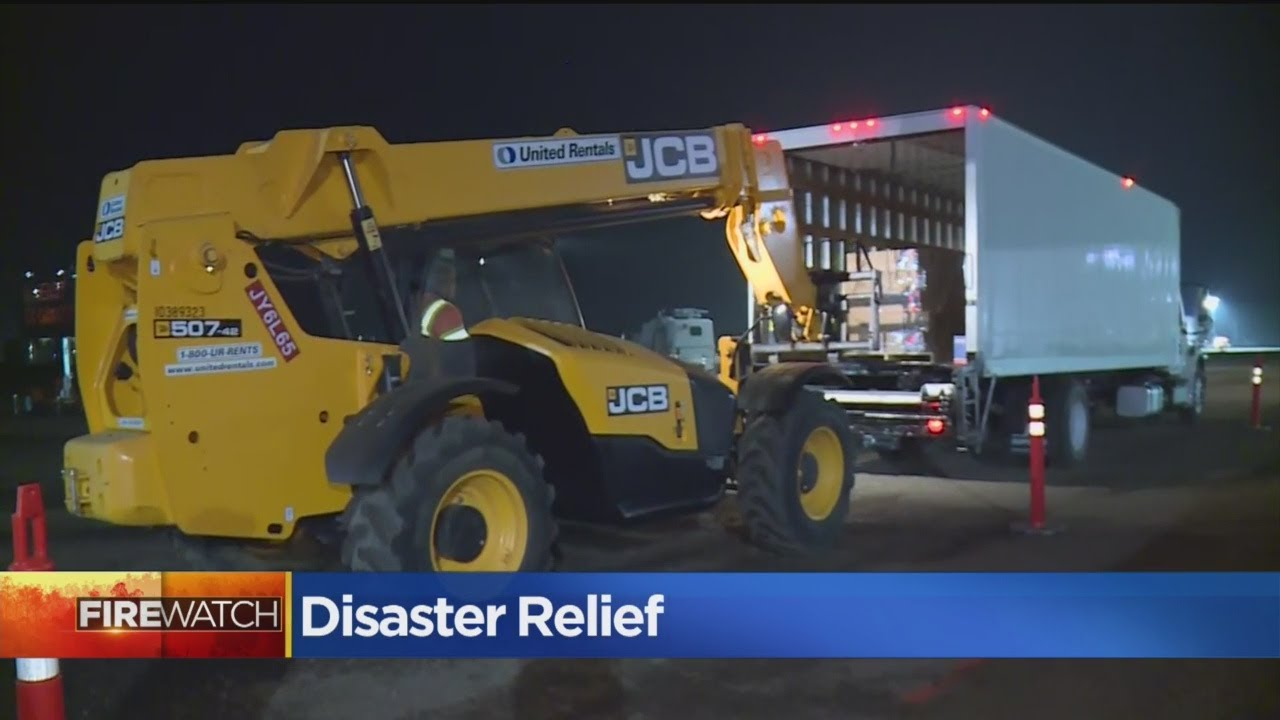 Camp Fire Latest: Disaster Relief
