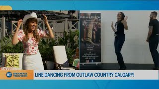 Movin' in the Morning: Outlaw Country line dancing!