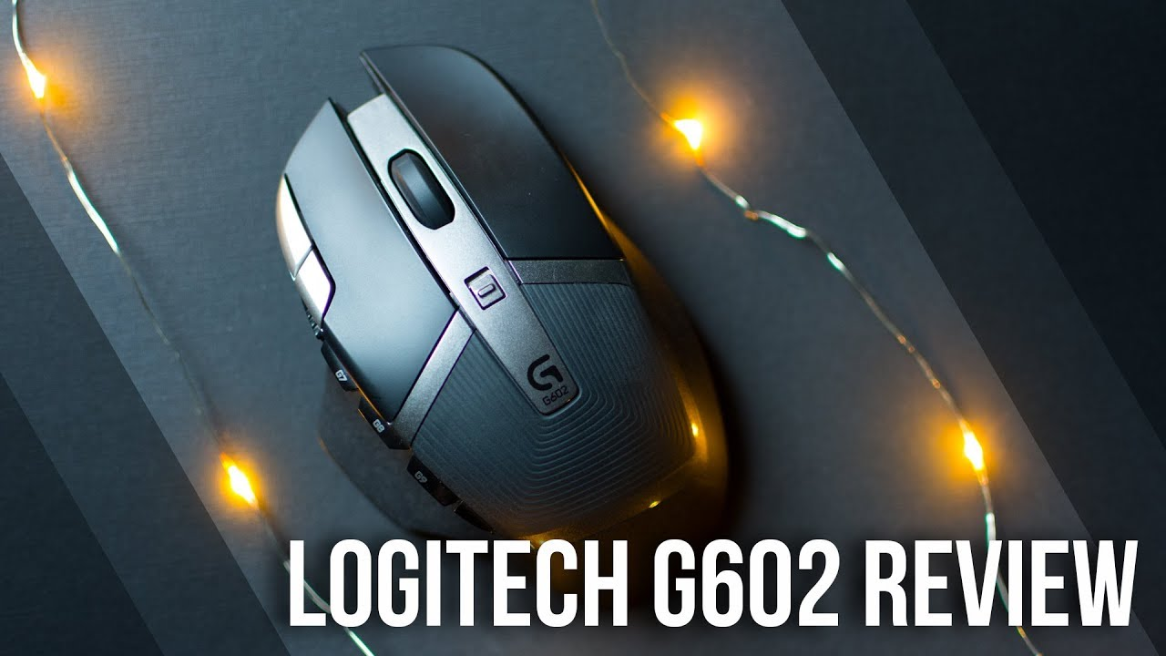89e60d6f540 Logitech G602 Wireless Gaming Mouse Consumer Review - YouTube