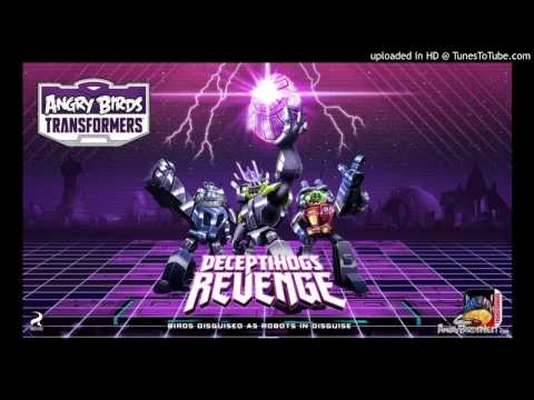 Angry Birds Transformers Pig City Theme