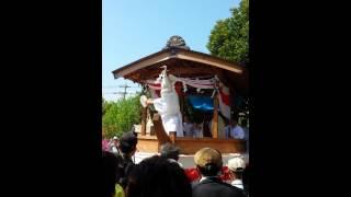 2015 六所神社 平成27年 祭 7 鷺の舞(さぎのまい)