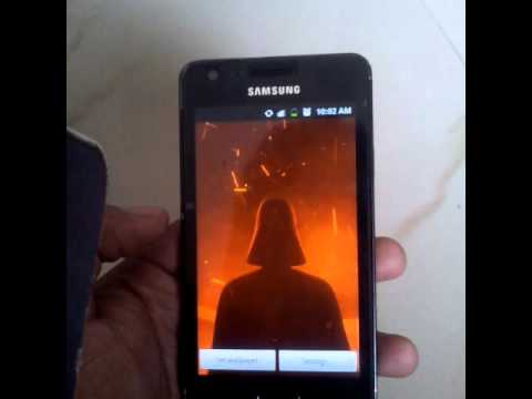 Star Wars Animated Live Wallpaper - The Force Awakens Android App (7/VII)
