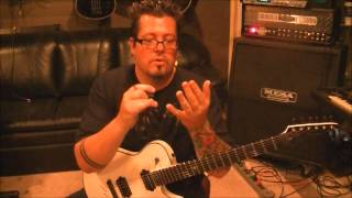 How to play Piece Of Your Action by Motley Crue on guitar(using scissors;)