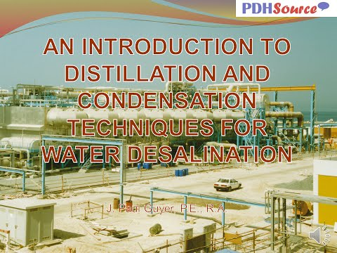 AV PP BULLET Distillation and Condensation Techniques for Water Desalination