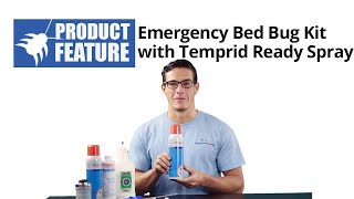 Emergency Bed Bug Kit with Temprid  Ready Spray