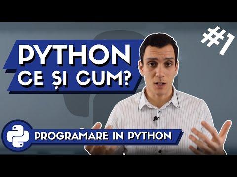 👨💻 Ce poti face cu Limbajul de Programare PYTHON ? | Programare in Python #1