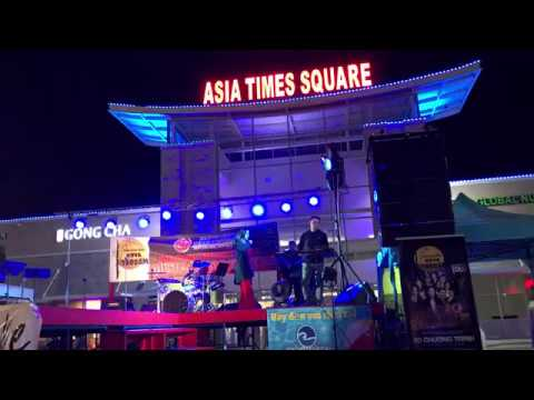 Minh Tuyet @Asia Times Square Hong Kong Music and Food Festival!