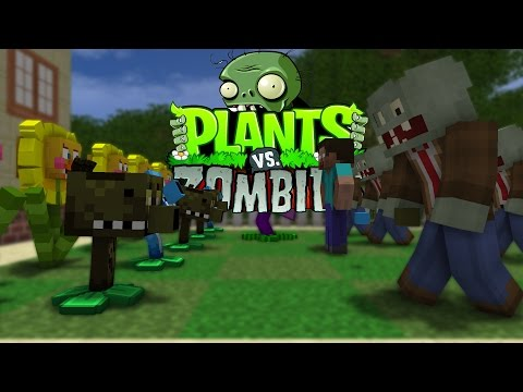 Thumbnail: FNAF vs Mobs: Plants vs Zombies Challenge - Monster School (Five Nights At Freddy's)