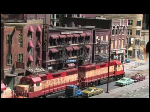 Superb Planning For Street Running Model Railroad (In HO Scale on The City Edge Layout)