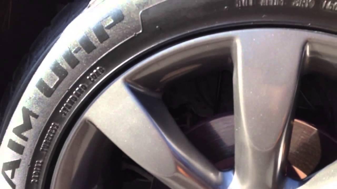 Infiniti FX45 stock rims painted in gun metal/graphite ...