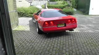 1985 corvette c4 with kbd exhaust