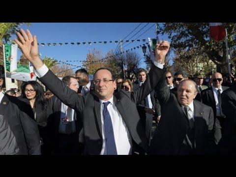 Hollande's France-Algeria friendship drive