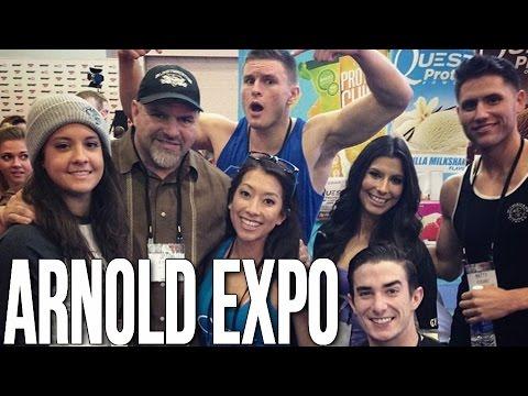 My Full Arnold 2015 Episode (ft. ChelseaLifts, Matty Fusaro, Josie Mai, O2B, LP, Tim, etc.)