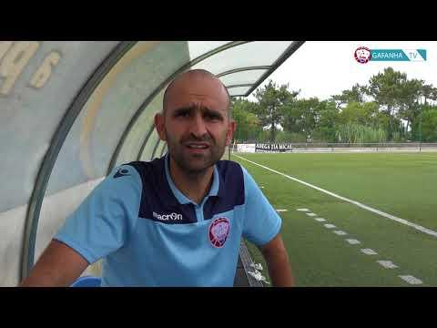 Flash   Carlos Freitas comenta a partida de hoje (GD Gafanha B Vs Valonguense)