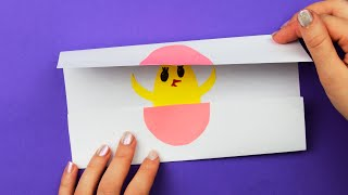 як зробити з кольорового паперу листівку