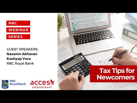 Tax Tips for Newcomers